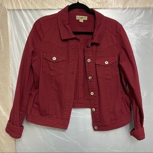 ONE WORLD Red Jacket